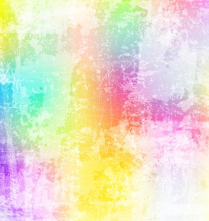 スプラッシュの抽象的な色の背景