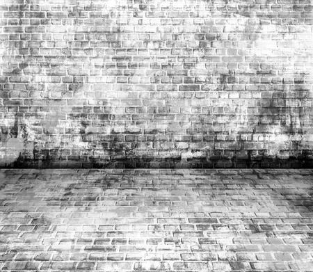 city street: Black and white wall painting art, inspirational background image.