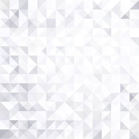 Geometric style abstract white  grey background Stock Illustratie