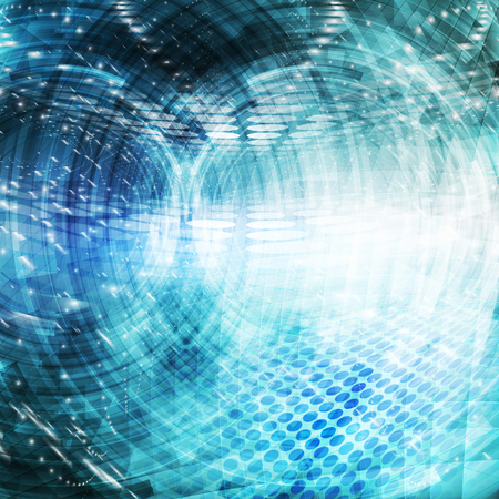 telecommunication: Abstract future technology concept background.
