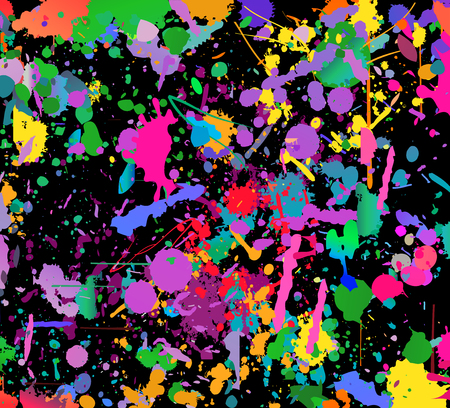 Abstract color splash background. Watercolor background illustration. (NO TRANSPARENCY)