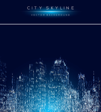 Modern city life abstract background design with arrow shapes.
