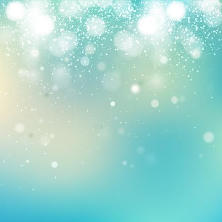 azul turqueza: Abstract blurred celebration concept background Foto de archivo