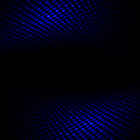 halftone: Abstract perspective dark blue halftone background