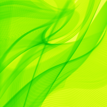 wavy lines: Abstract green line art, wavy lines background