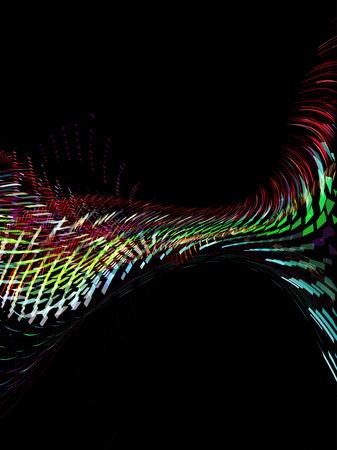 lineas onduladas: forma de onda abstracto, fondo de l�neas onduladas