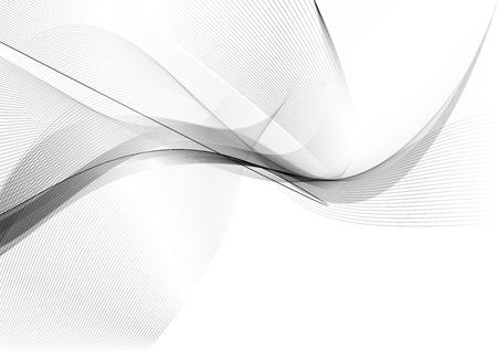 抽象的な波線背景ソフトで滑らかな煙の背景画像 写真素材