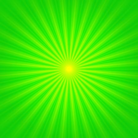 vibrant: Shiny vibrant green spring sun beams background