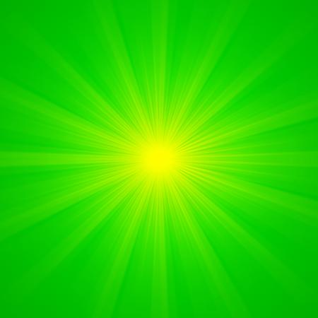 vibrant background: Shiny vibrant green spring sun beams background