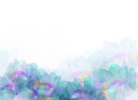 抽象的な柔らかい花背景、デザイン