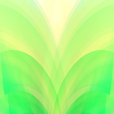aura sun: Ecology concept soft green and yellow natural background
