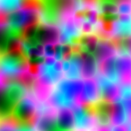 Abstract colorful background illustration with vibrant color tones. Imagens
