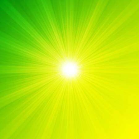 shiny background: Fresh shiny spring sun background Stock Photo