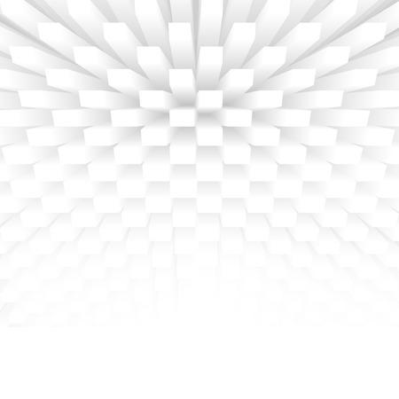cubo: cubos 3d abstracto, fondo del concepto de la arquitectura Foto de archivo