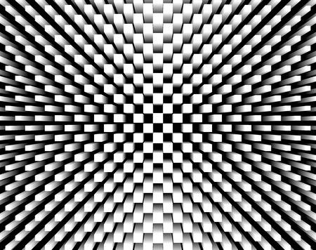 black block: cubos 3d abstracto, fondo del concepto de la arquitectura Foto de archivo
