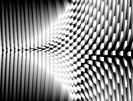 abstract cubes: Abstract 3d cubes, architecture concept background