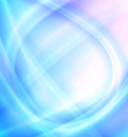tiefe: Abstrakt weichen blauen Hintergrund Bild Lizenzfreie Bilder