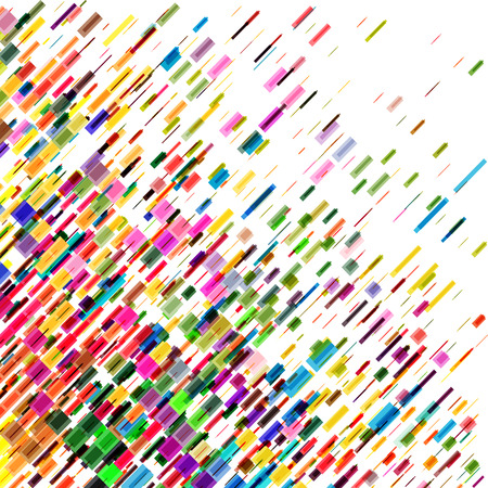 diagonal: Colorful diagonal lines, speed vector background
