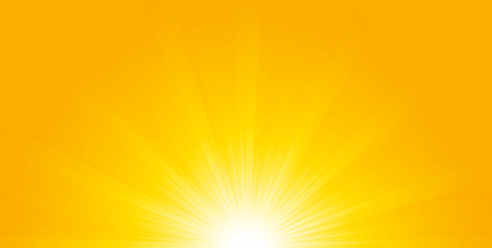 dazzling: Shiny sun lights, abstract summer background and banner design.