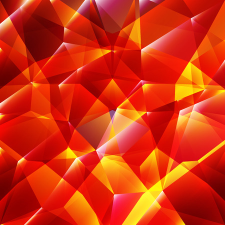 vibrant background: Vector geometric background with triangular & polygonal shapes and vibrant shiny color tone.