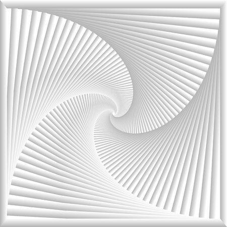 spinning: Abstract soft grey and white swirl lines background. Illustration