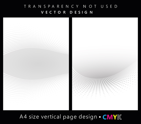 grid background: Abstract halftone backgrounds set, brochure & flyer designs, cover templates.
