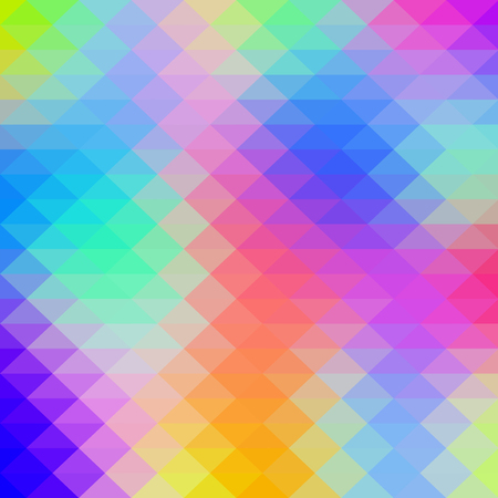 Abstract colorful geometric art background.
