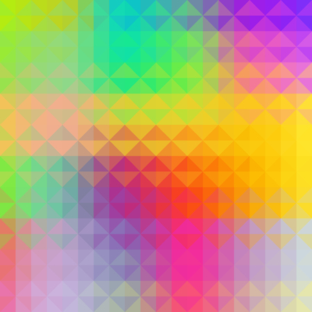 groovy: Abstract colorful geometric art background.