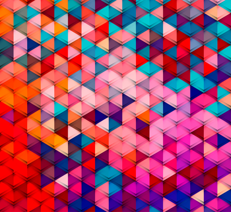 Abstract colorful geometric background. Illustration