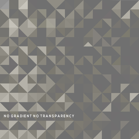 Abstract black and white geometric background with triangles. Illustration