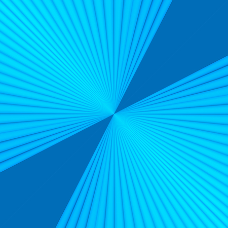 Abstract winter sun, 3d effect starburst & sunburst background with stylish turquoise blue color tone.