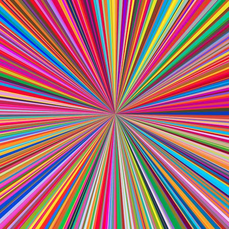 Amusement d'été coloré, arrière-plan vectoriel starburst & sunburst avec un ton de couleur pastel élégant et joli. Vecteurs
