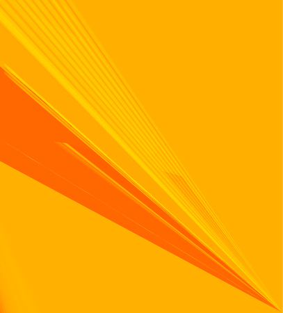 Soft yellow & orange color toned,  3d minimal concept abstract background. Vertical A4 page size brochure & flyer template, layout.  イラスト・ベクター素材