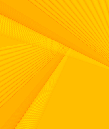 Soft yellow & orange color toned,  3d minimal concept abstract background. Brochure & flyer template, layout.