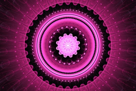 Pink mandala Stock Photo - 12029880