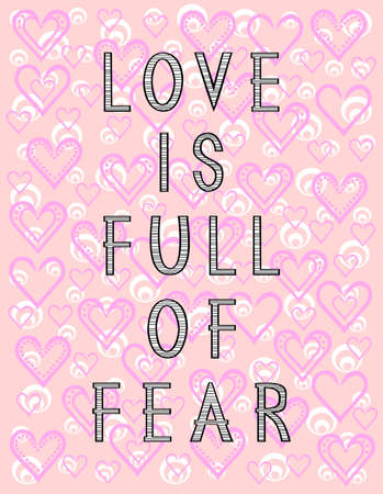 frase: frase inspirada en el amor en el fondo con el corazón