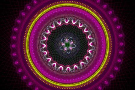 textured: Textured mandala Stock Photo