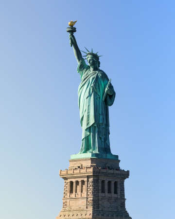 Statue of Liberty whole and big Stock Photo