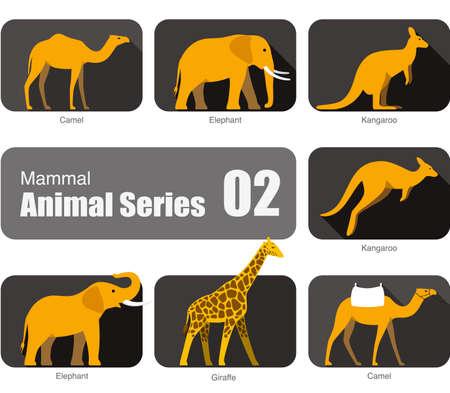 mammal: Mammal animal cartoon collection