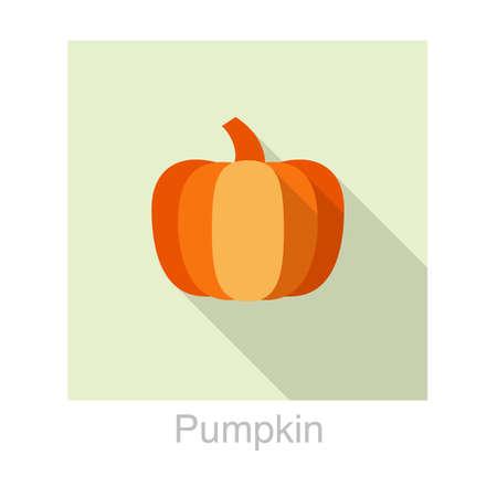 food: pumpkin food flat icon
