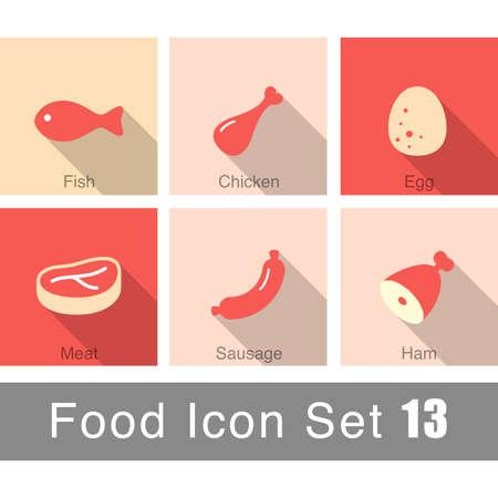 food: food icon set