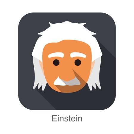 einstein: Einstein character cartoon