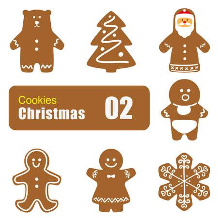 christmas cookie: Christmas cookie set