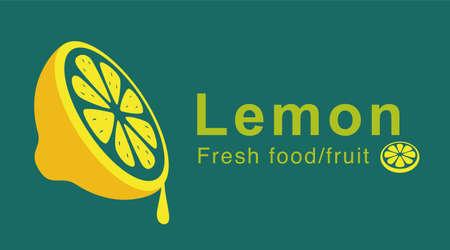 juicy: lemon slice dropping juicy Illustration