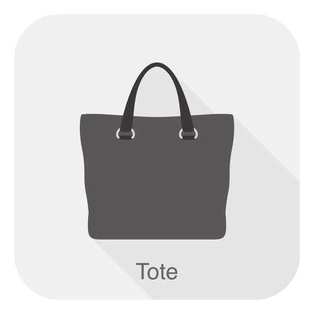tote: Fashion girls handbag series, vector, tote bag