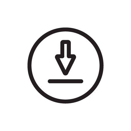 Download Icon In Trendy  Design Vector Eps 10