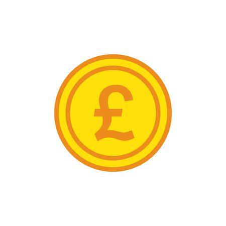 Money, Dollar, Euro, Yen, Bitcoin, Pound Sterling, Icon In Trendy