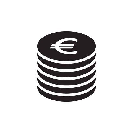Money, Dollar, Euro, Yen, Bitcoin, Pound Sterling, Icon In Trendy  Design Vector Eps 10 Çizim