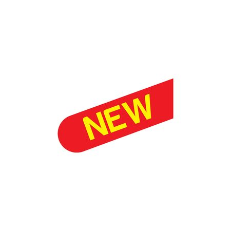 New ribbons. Corner banner, new tag labels Icon In Trendy  Design Vector Eps 10