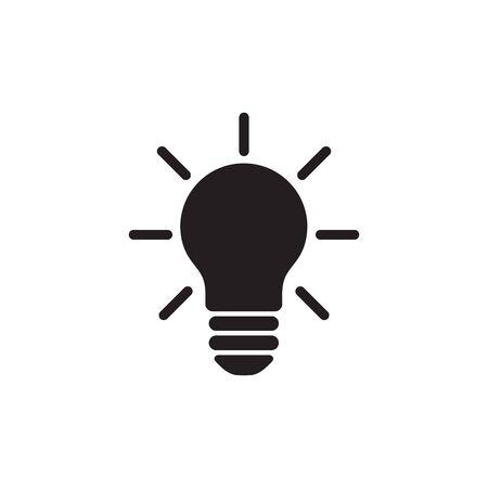 Light Bulb Icon In Trendy  Design Vector Eps 10